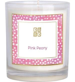 CANDLE/Pink Peony 12oz