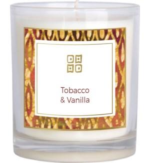 CANDLE/Tobacco & Vanilla 12oz