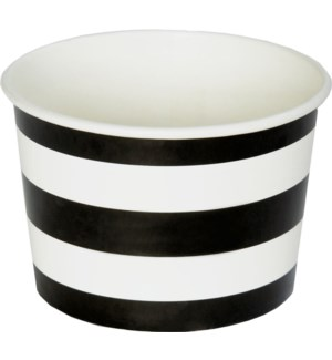 TREATCUPS/Kenzie Stripe-Black