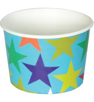 TREATCUPS/Colorful Stars-Blue