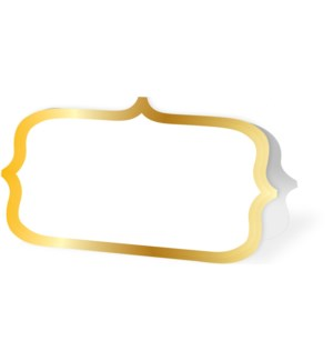 PLACECARDS/Gold Ornate Border