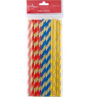 STRAWS/Primary Stripes