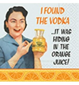 NAPKIN/In The Orange Juice