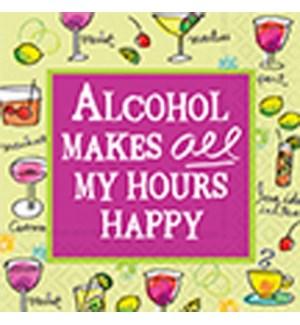 NAPKINS/Alcohol Makes All