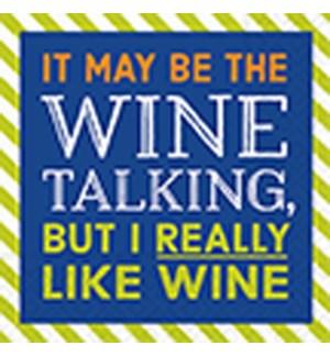 NAPKINS/I Really Like Wine