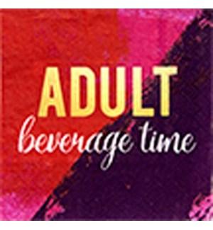 NAPKIN/Adult Beverage Time