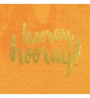 NAPKIN/Hooray Hooray Orange