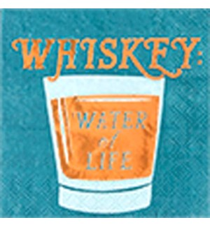 NAPKIN/Whiskey Water Of Life