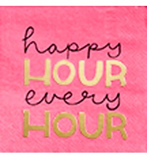 NAPKIN/Happy Hour Every Hour