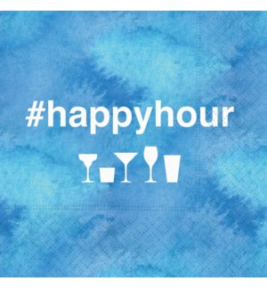 NAPKIN/Hashtag Happy Hour