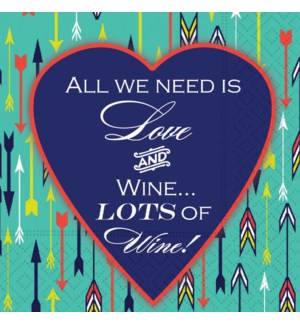 NAPKIN/All We Need Is Love
