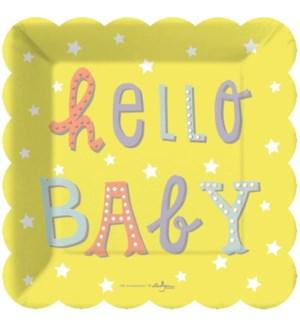 PLATE/Hello Baby Dessert