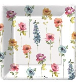 PLATE/Rainbow Seeds Garden Des