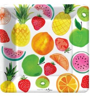 PLATE/Fruit Salad Dessert