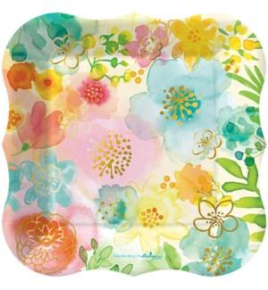 PLATE/Fancy Florals