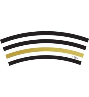 TREATCUP/Black Kenzie Stripe