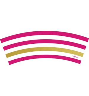 TREATCUP/Magenta Kenzie Stripe