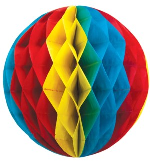 HONEYCOMB/Red Yellow Blue 10""