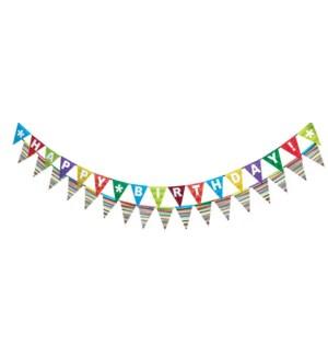 BANNER/Happy Birthday Hooray