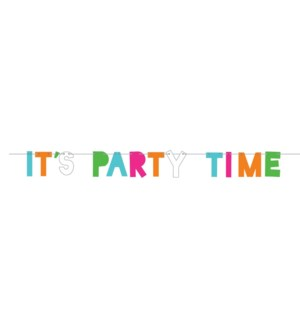 BANNER/It's Party Time