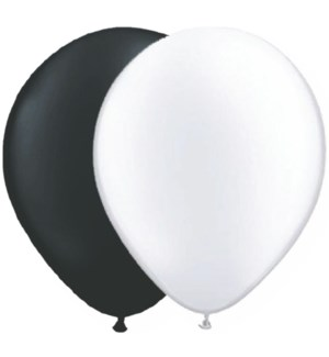 BALLOON/Black And White Mix