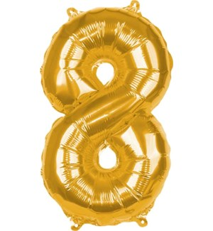 BALLOON/Gold Foil 8