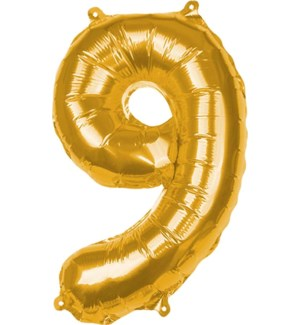 BALLOON/Gold Foil 9