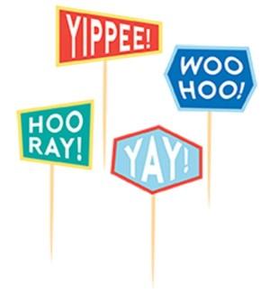PARTYPICKS/Yippee Yay Hooray