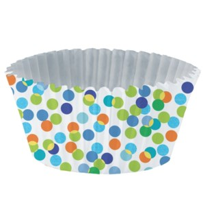 CUPLINERS/Blue Confetti Toss