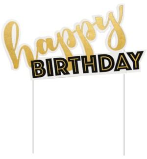 CAKETOP/Golden Birthday
