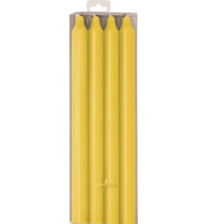 CANDLE/Yellow Rustic Taper 4