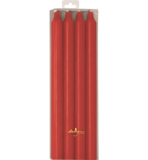 CANDLE/Red Rustic Taper 4