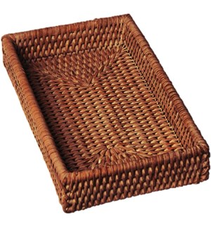 HOLDER/Brown Rattan Guest
