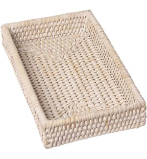 HOLDER/White Rattan Guest