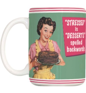 MUG/Desserts Spelled Backwards