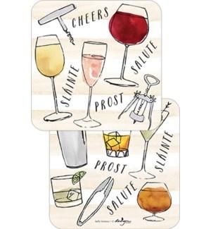 COASTER/Wine Cheers