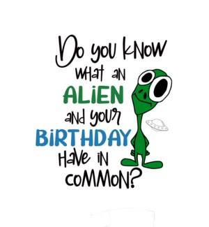 BD/Do You Know What An Alien