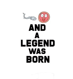 BD/And A Legend Was born