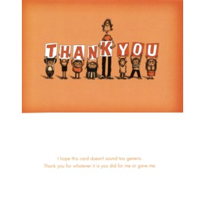 TY/Thank You (1/2 size)