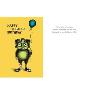 BBD/HAPPY BELATED BIRTHDAY