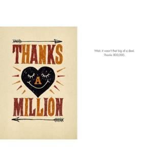 TY/Thanks A Million