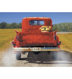 AN/Truck couple in rear window