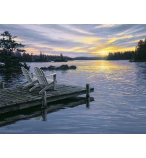 AN/Dock overlooking lake
