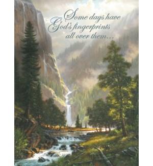 BD/Waterfall & elk