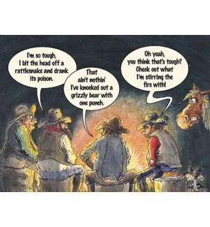 BD/Cowboys around campfire