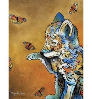 BD/Colourful wolf cub