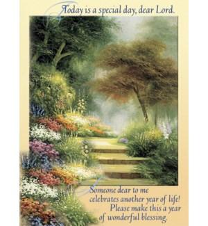 BD/Steps in flower garden