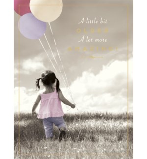 BD/Little girl with balloons