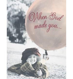 BD/Girl & red balloon