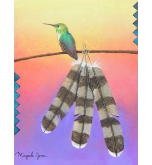 BD/Hummingbird on a line